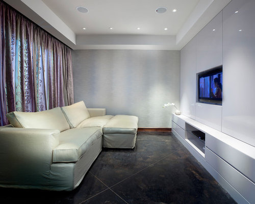 Narrow Tv Room Home Design Ideas Pictures Remodel And Decor
