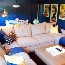 Eclectic Home Theater by Jessica McClendon