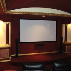 Home Theater by Rankin Construction