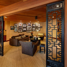 Asian Home Theater by ROSEANNE GUAGLIANONE