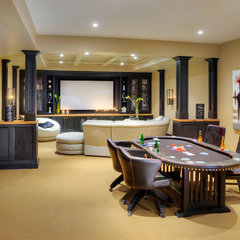 contemporary media room by Shouldice Media