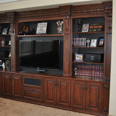Traditional Home Theater by Artesia Kitchen & Bath