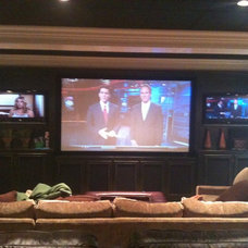 Home Theater by Paragon Sight Sound Security