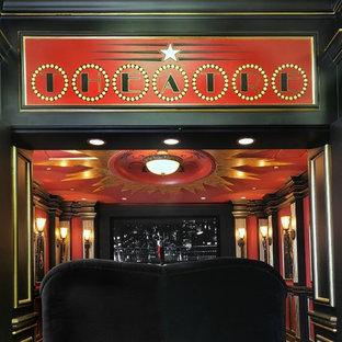 Immagine di un home theatre moderno