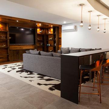 milton basement fit-out