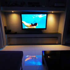 Modern Home Theater by Original Source