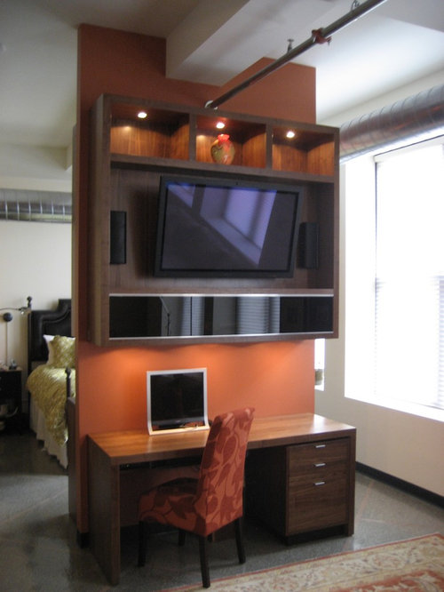 Modern Entertainment Unit Home Design Ideas, Pictures, Remodel and Decor