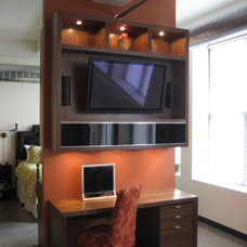Modern Home Theater Modern entertainment unit