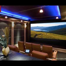 Modern Home Theater Modern Home Theater