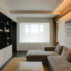 Modern Home Theater by Workshop/apd