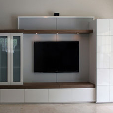 Modern Home Theater by Dynamic Designs Furniture