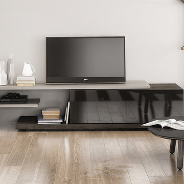 Modern TV Stand Inverse by Huppe - $1,987.00