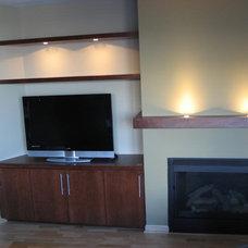 Modern Home Theater Modern TV unit
