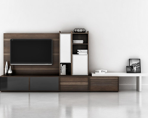 Design Ideas For A Modern Home Theatre In New York.
