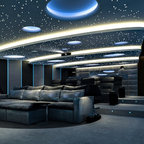 Hurndale Transitional Home Theater Toronto By