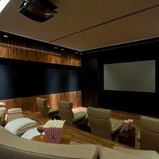 Foto di un home theatre tropicale