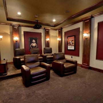 Moreno Home Media Room