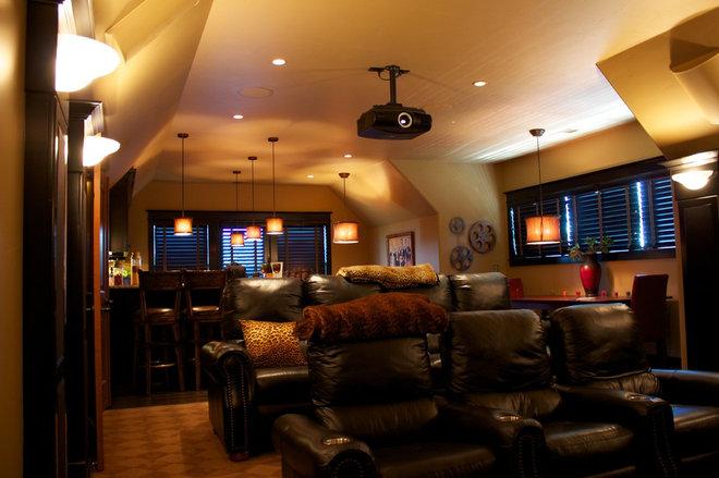 Modern Home Theater by Audio/Video Awakenings LLC