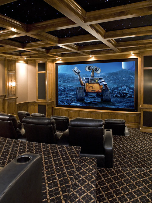 Basement Theater Ideas Home Design Ideas, Pictures, Remodel And Decor