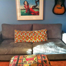 Eclectic Home Theater by Alyson Bell @ Home Staging & Decor