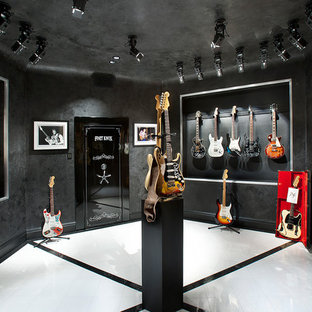 Music Room - Guitar Display