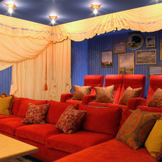 Traditional Home Theater by VIA – San Francisco