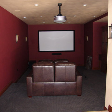 Narrow Home Theater Solution