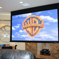 Traditional Home Theater by david phillips