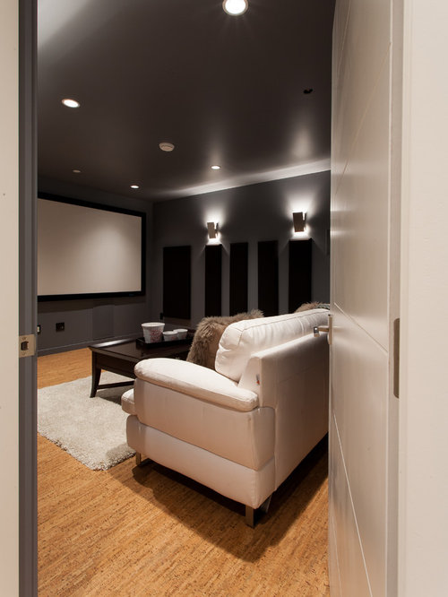 Small Home Theater Design Ideas, Remodels & Photos