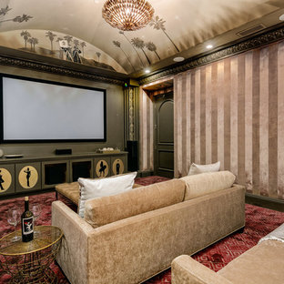 75 Most Por Home Theater Design Ideas for 2018 - Stylish Home ... Interior Design Ideas For Home Theater on home theater design layouts, home theater design software, home theater office, home theater furniture, home theater wall design, home theater bathrooms, home theater bed designs, home theater apartment, home theater systems design, home theater green, home theater christmas, home theater bedding, home theater home, home theater fabrics, home theater room, home theater design example, home theater design product, home theater inspiration, home theater architecture, home theater design plan,