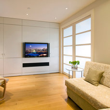 Modern Home Theater by Electronics Design Group, Inc.