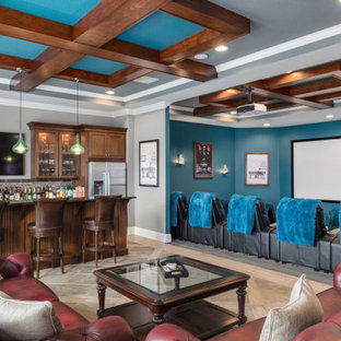 Open Concept Adult Game Room/ Bar/ Home Theater