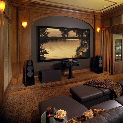 Классический Домашний кинотеатр by Busby Cabinets