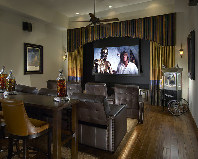 Home Theater by Ownby Design