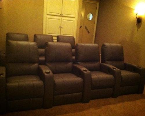 SaveEmail. Dallas  TX  Custom Home Theater Seating  Palliser