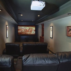 Home Theater by Raymac Remodeling
