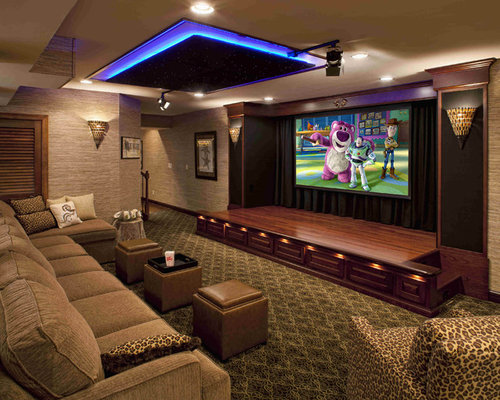 Save Photo. Best Open Concept Home Theater Design Ideas   Remodel Pictures   Houzz