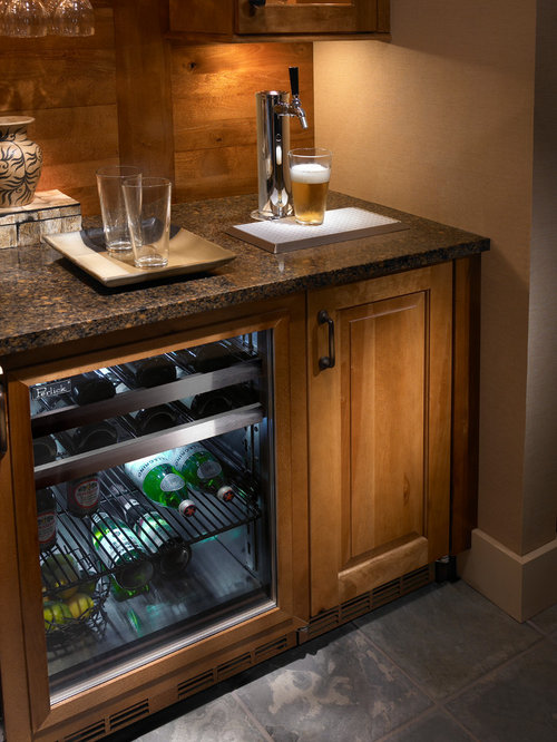 Undercounter beer keg home design ideas pictures remodel and decor Home bar furniture with kegerator