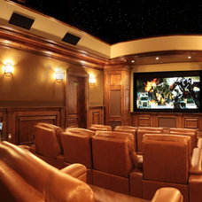 Traditional Home Theater by JL Automation, LLC