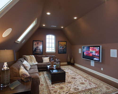 Bonus room over garage houzz for Room above garage plans