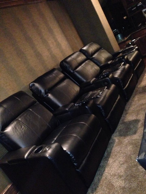 . Dallas Home Theater Seating  Row One  Plaza