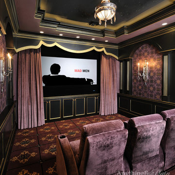 Plush Theater Room
