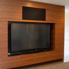 Modern Home Theater by Mobili Martini