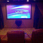 2008 Halifax Residence Traditional Home Theater