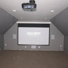 Modern Home Theater by DNA Home Audio