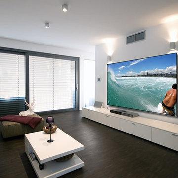 Projector Screens, Mirror TV's & Creative TV Mounts
