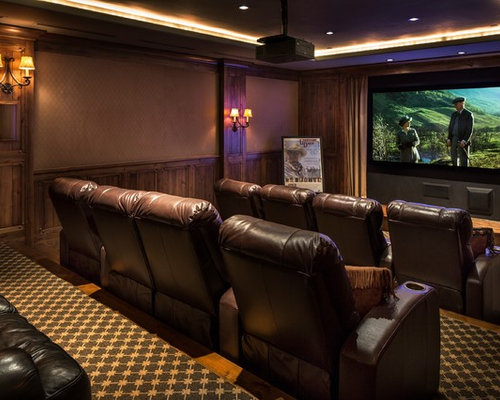 best home theater design ideas remodel pictures houzz - Home Theatre Design Ideas