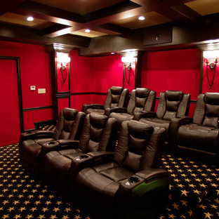 Red 7 Seat Theater