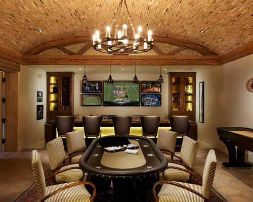 Poker Room Houzz