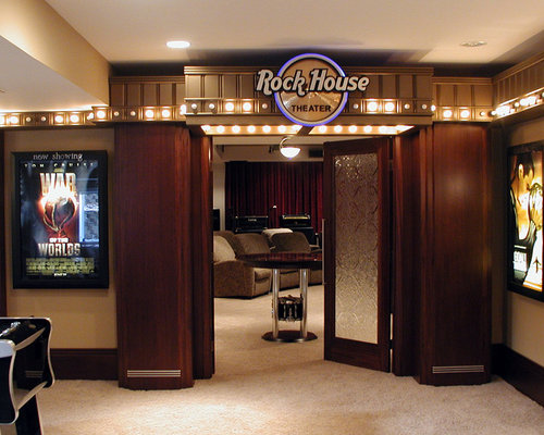 Theatre Entrance Home Design Ideas Pictures Remodel And